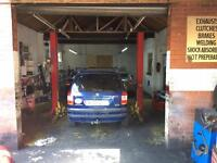 Garage for sale body shop & mechanic repairs