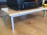 For sale, small Coffee Table (used as an isolation stand for my stereo so completely unmarked)