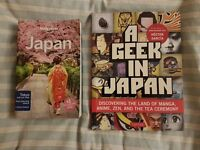 Japan Lonely planet 2016 + A Geek in Japan - all you need for your Japan trip!