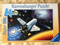 Space shuttle jigsaw