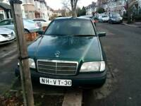 LHD LEFT HAND DRIVE MERCEDES C180. ONE OWNER,FSH.GREAT CONDITION.LHD