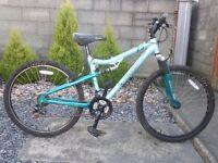 bike green apollo 26'' aluminium frame