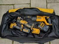 Dewalt 18v xr Drill Reciprocating Saw Multitool charger