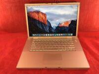 "Apple MacBook Pro A1226 15"" Core 2 Duo Processor, 4GB Ram, 500GB, 2007 +WARRANTY, NO OFFERS L268"