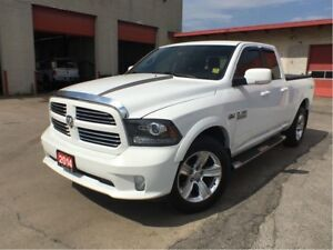 2014 Ram 1500 SPORT**SPORT HOOD**NAV**BACK UP CAM**BLUETOOTH**