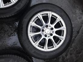 Mercedes Benz c220 16 inch alloys 2014 Breaking