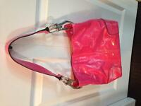Guess and pink purse