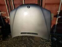 Bmw e46 silver bonnet