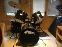 Tiger 5 Piece Drum Kit