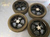 Genuine seat audi vw alloy wheels 17 inch