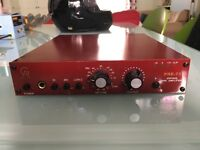 Golden Age Pre 73 mic preamp and D.I. box