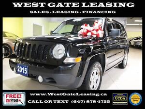 2015 Jeep Patriot SPORT 4WD | CERTIFIED |