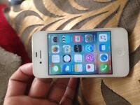 iPhone 4s 8gb locked to 02 and giffgff network. Excellent condition