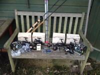 Shimano/Drennan Fishing Reels and Rods