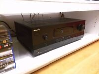 Sony STR-DH520 AV 7.1 channel AV receiver 1080p 3D home cinema/surround sound. only used 5 months