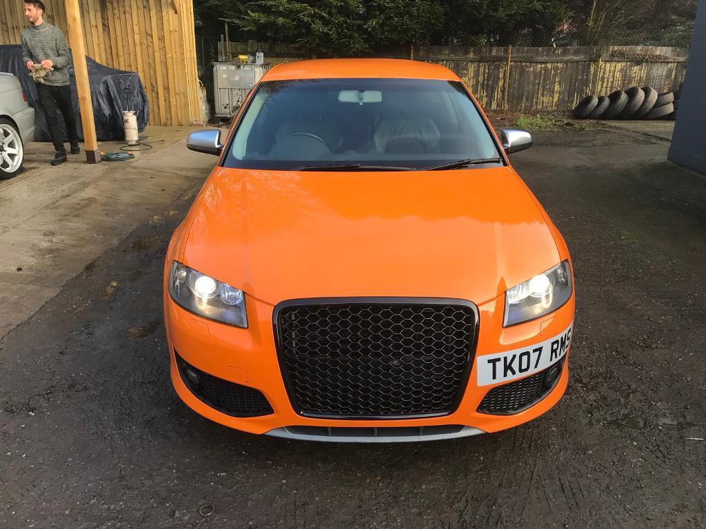 audi s3 8p solar orange in newhall derbyshire gumtree. Black Bedroom Furniture Sets. Home Design Ideas