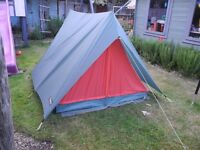 etro vango eastwind 150 2 man tent, canvas inner