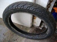 100 x 90 x18 part worn tyre