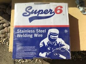 SWP 15kg Super6 316 LSI Stainless Steel MIG Wire (3 reels available £110 each)