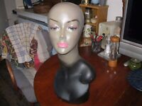 Woman mannequin head