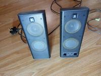 Logitech S-0264B X-140 Multimedia 2.0 Speakers - 5 watts