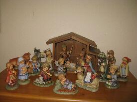 Hummel Nativity Scene