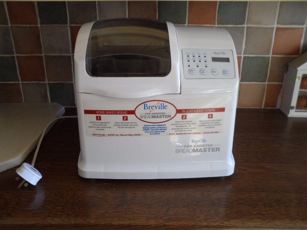 breville fan assisted breadmaker instructions
