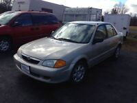 2000 Mazda Protege AS TRADED SPECIAL !!! REDUCED TO $500