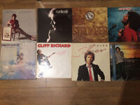 Cliff Richard records collection. 12'' and Lps vinyls