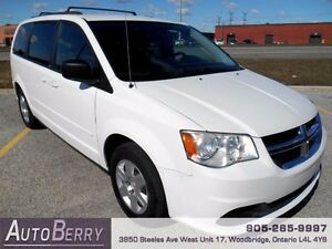 2012 Dodge Grand Caravan SE **CERT E-TEST ACCIDENT FREE** $9,999