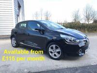 Renault Clio (Fiesta 1 series Corsa A1 A3 Astra Golf Polo) £115 per month