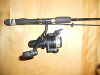 Canne et moulinet Shimano, Fishing rod and reel