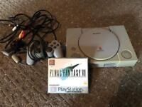 Playstation 1 and final fantasy v11 ps1