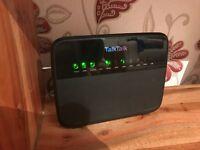 TalkTalk wifi internet router
