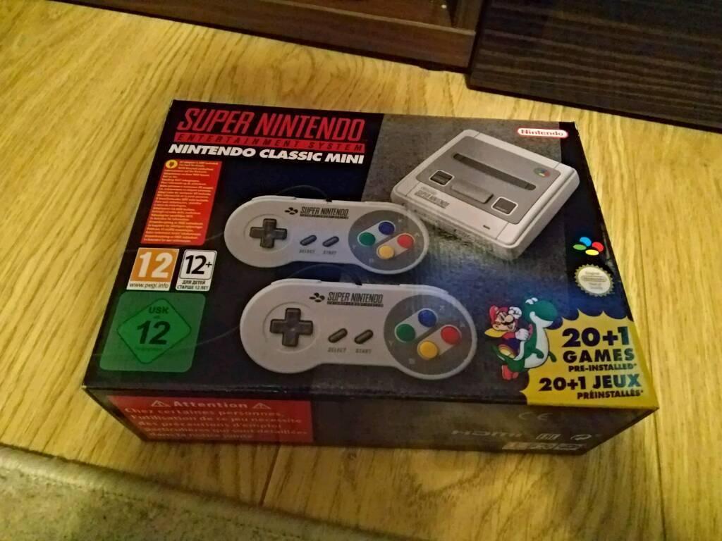 Super Nintendo mini snes excellent christmas present | in Barking ...