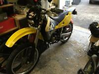 Husqvarna wre 125 road legal 12 months mot