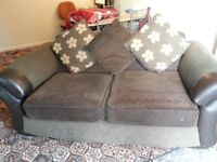 Large two-seater sofa