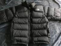 north face nuptse 700 goose down large puffer jacket men's coat