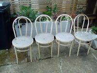 Metal Chairs x 2