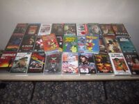 VHS VIDEOS, ( 51 ), Mixed.