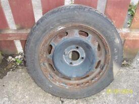 185/60/15 wheel & tyre