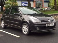 RENAULT CLIO 2006 (06 REG)**£1099**LONG MOT*FULL SERVICE HISTORY*BLACK*MANUAL*PX WELCOME*DELIVERY