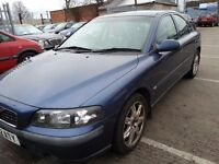 VOLVO S60 2.0 T S LEATHER ALLOYS SERVICE HISTORY 6 MONTHS MOT