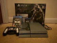 PlayStation 4 (500GB), Batman Arkham Knight limited edition console + 3 Games + stand