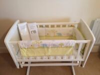 FOR SALE: Rocking Baby Crib