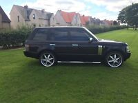 Range Rover HSE 2013. Big Wheels and chrome pack