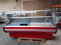 NEW £1408 + VAT 200cm (6.5 feet) Serve Over Counter Display Fridge WEGA N2407