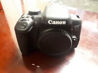CANONEOS 750D DSLR Camera with 18-55 mm