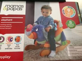 Mamas and papas rocking elephant
