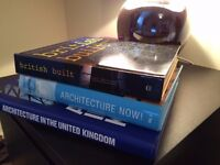 A MIX OF 3 ARCHITECTURE BOOKS